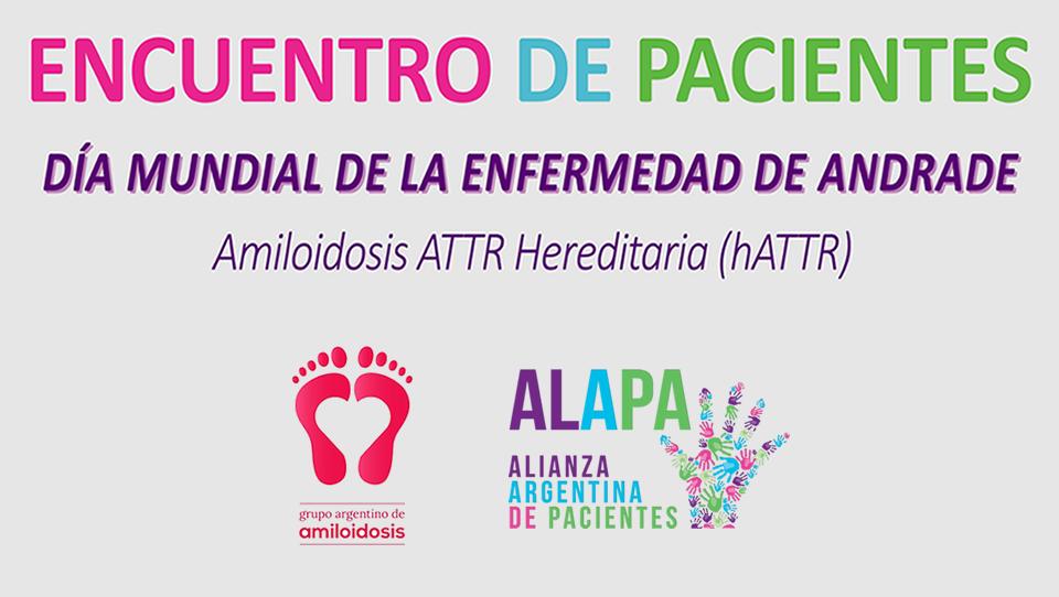 Encuentro de pacientes con Amiloidosis Hereditaria (hATTR)