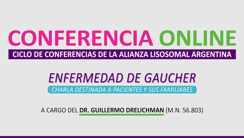Enfermedad de Gaucher: Conferencia Online