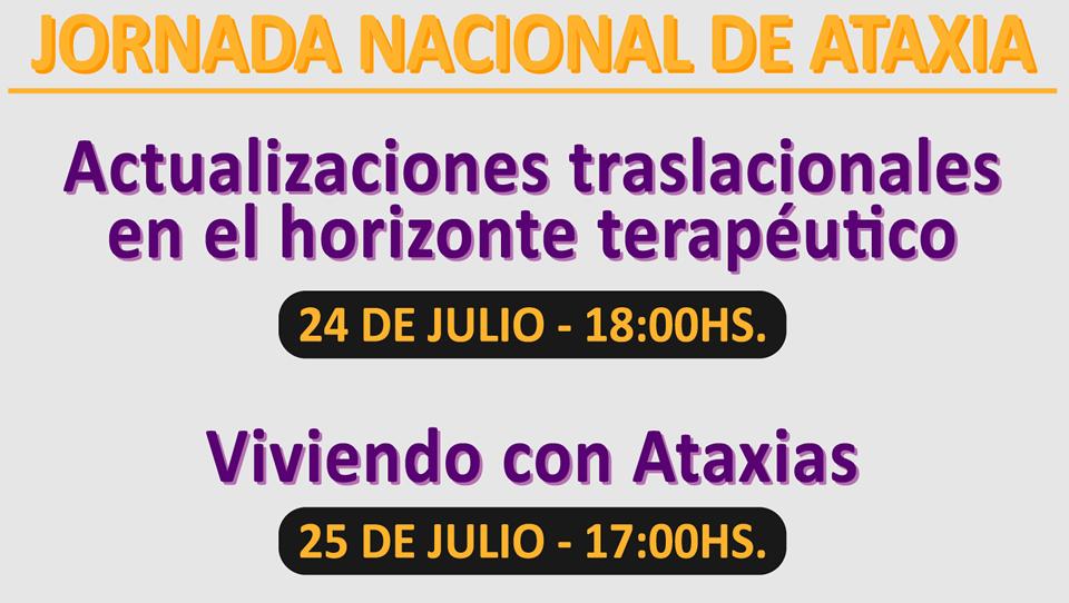 Jornada Nacional de Ataxia