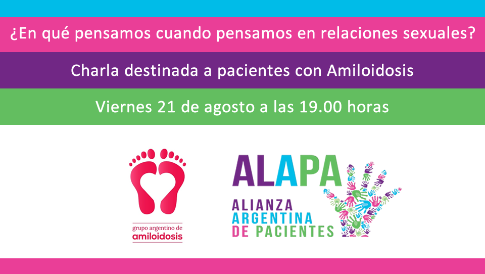 Charla sobre sexualidad para pacientes con Amiloidosis