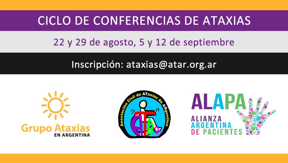 Ciclo de Conferencias de Ataxias