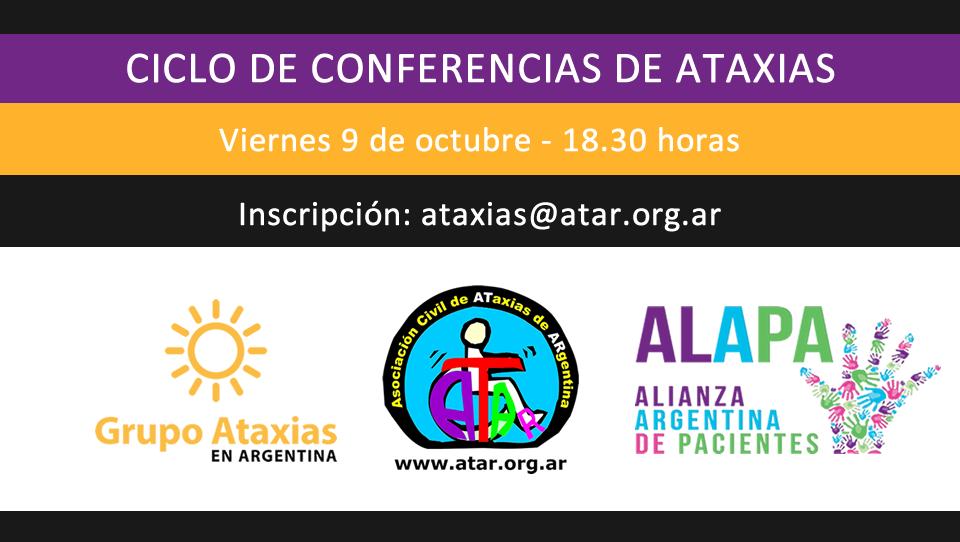 Nueva charla del Ciclo de Conferencias de Ataxias
