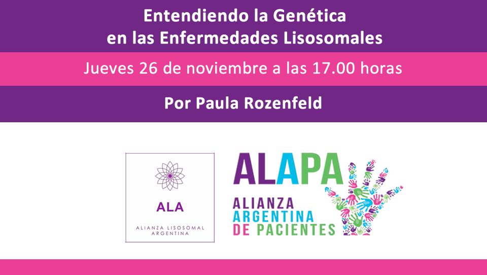 Entendiendo la Genética en las Enfermedades Lisosomales