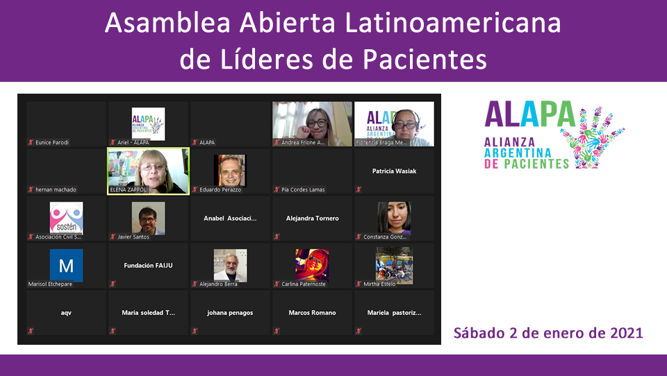 Asamblea Latinoamericana de Líderes de Pacientes