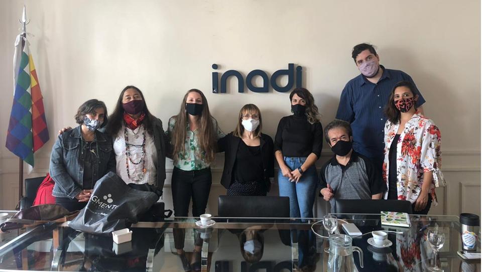 ALAPA y el Grupo ADEE se reunieron con el INADI