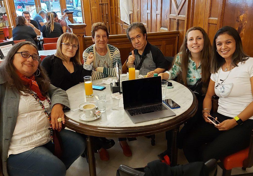 Integrantes de ALAPA y del Grupo Argentino ADEE.
