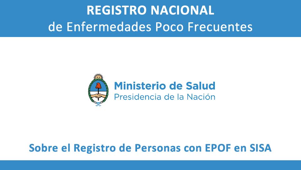 Registro EPOF