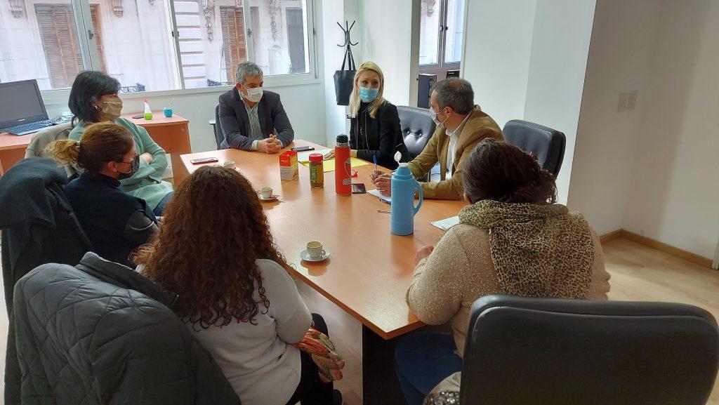 Reunión con autoridades del Programa Federal Incluir Salud.